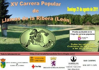 XV Carrera Popular de Llamas de la Ribera - 5,25 Km - Domingo, 21 de Agosto de 2011, a partir de las 18:15 20110810204246-cartel-logo-harbalife-y-telefono-reducido